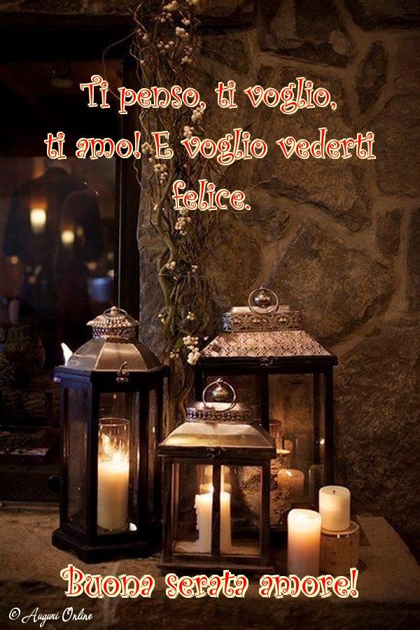 Auguri di buona serata - Buona serata amore!