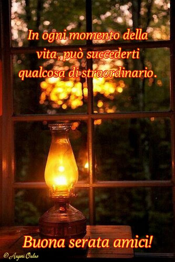 Auguri di buona serata - Buona serata amici!