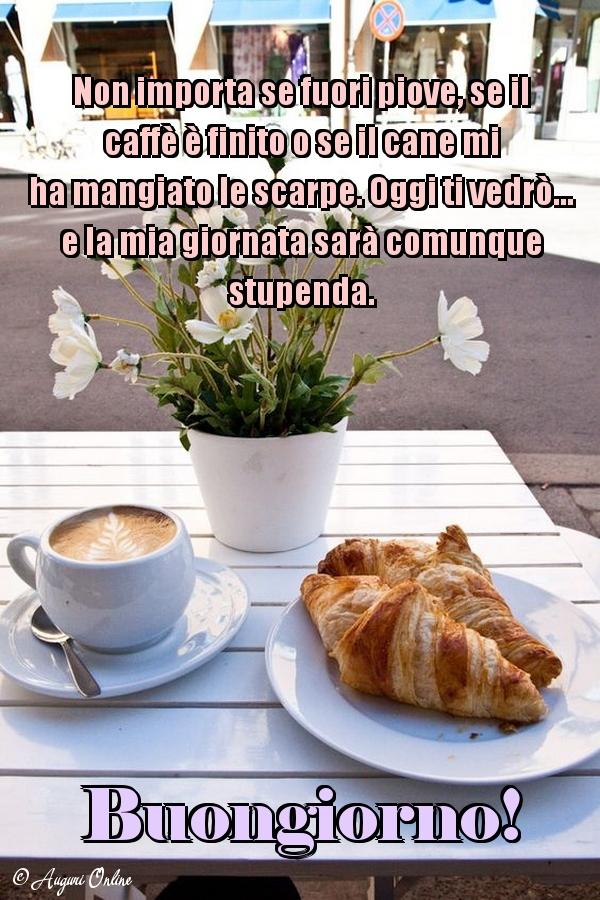 Auguri di buongiorno - Buongiorno!