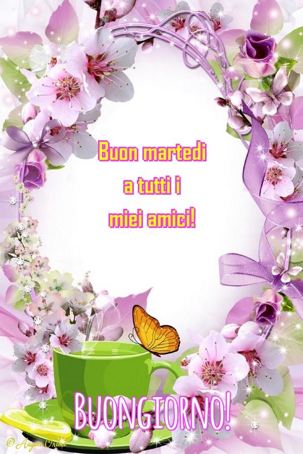 Auguri Di Buongiorno Buongiorno Martedi