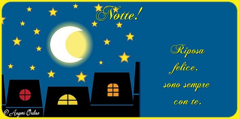 Auguri di buonanotte - Notte!