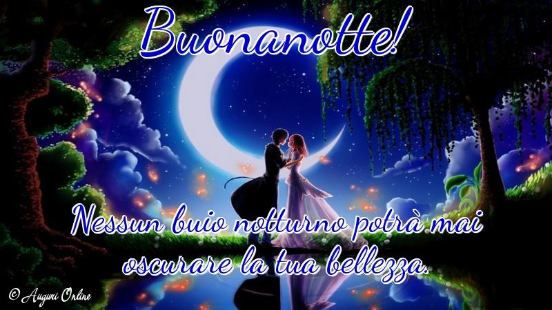 Auguri di buonanotte - Buonanotte!