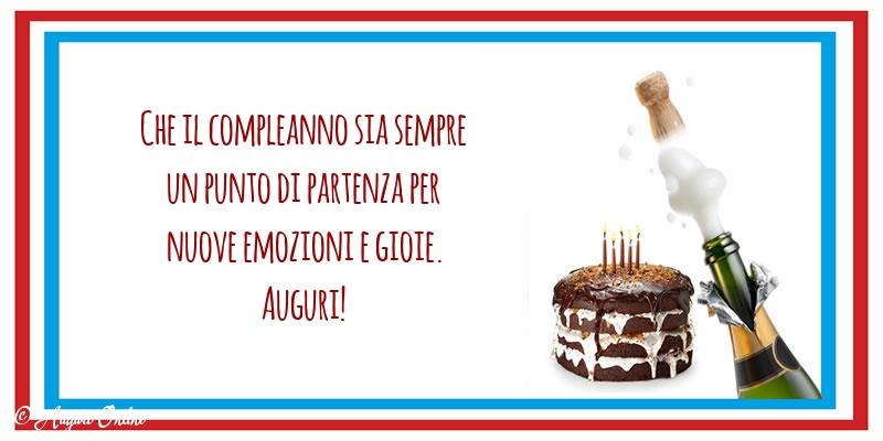 Auguri di compleanno - Auguri!
