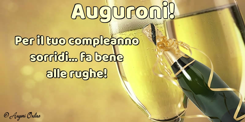 Auguri di compleanno - Auguroni!