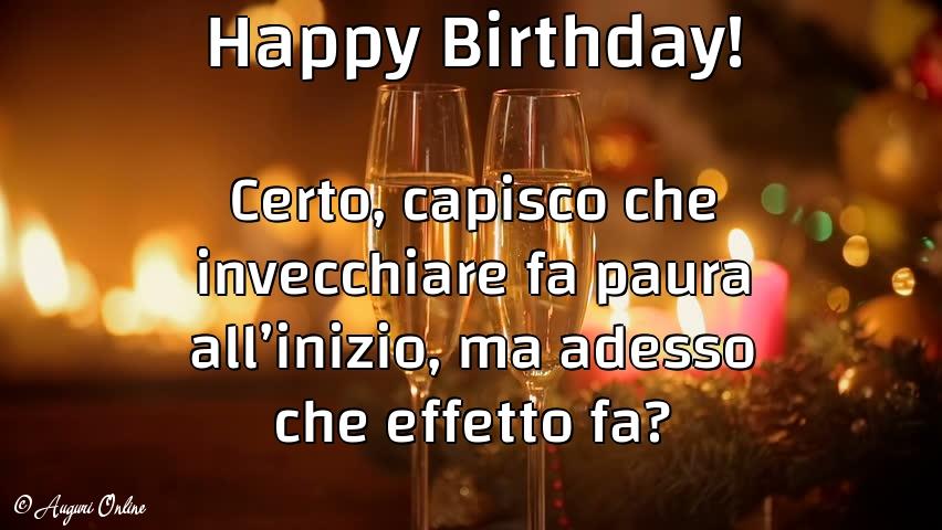 Auguri di compleanno - Happy Birthday!