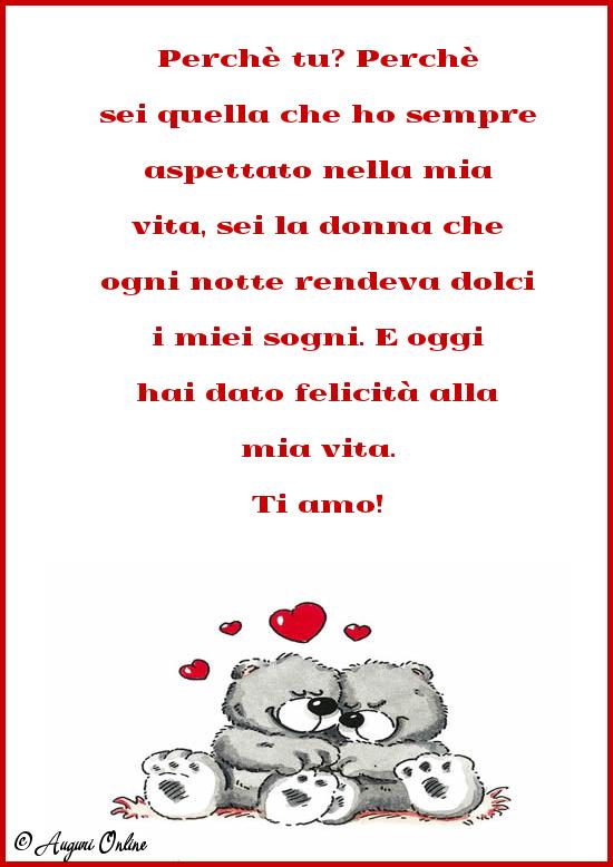 Auguri d'amore - Ti amo!