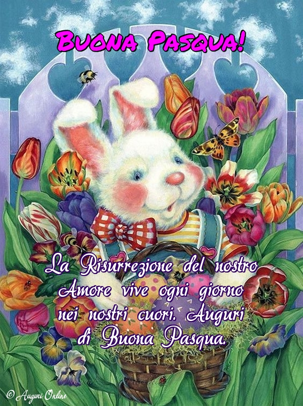 Auguri di pasqua - Buona Pasqua!
