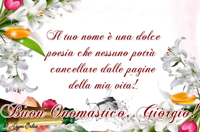 Auguri di San Giorgio - Buon Onomastico, Giorgio!
