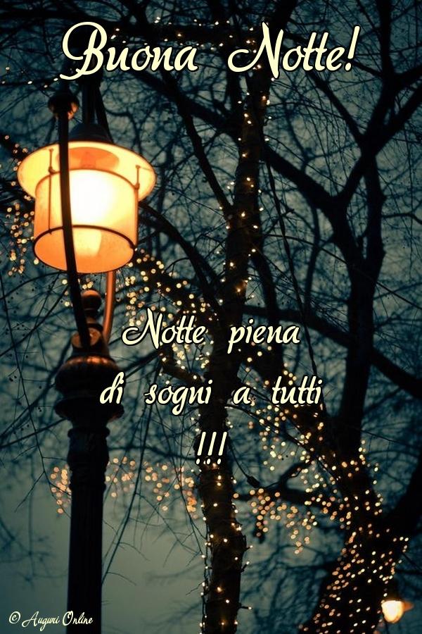 Auguri di buonanotte - Buona Notte!
