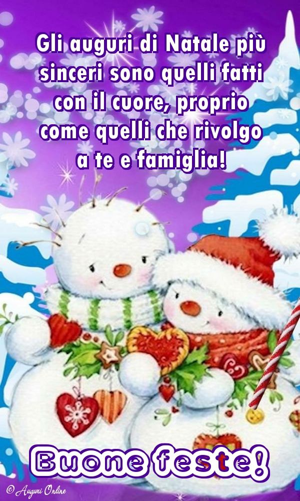Cartoline di Natale - Buone feste!